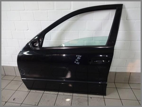 Mercedes Benz MB W211 E-Class door front LEFT 185 melanite black 2117201305 K25