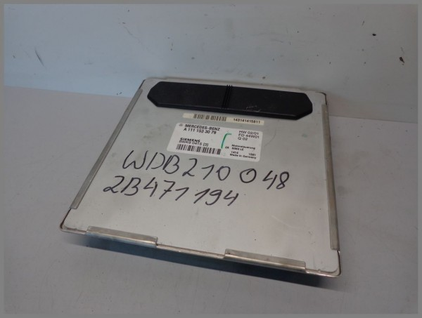 Mercedes Benz MB W210 Motorsteuergerät Steuergerät 1111533079 5WK90415 [3] Orig.