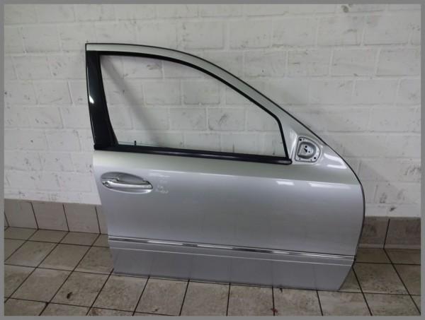 Mercedes Benz W211 E-Class Door Front Right 775 Iridium Silver 2117201405 K107