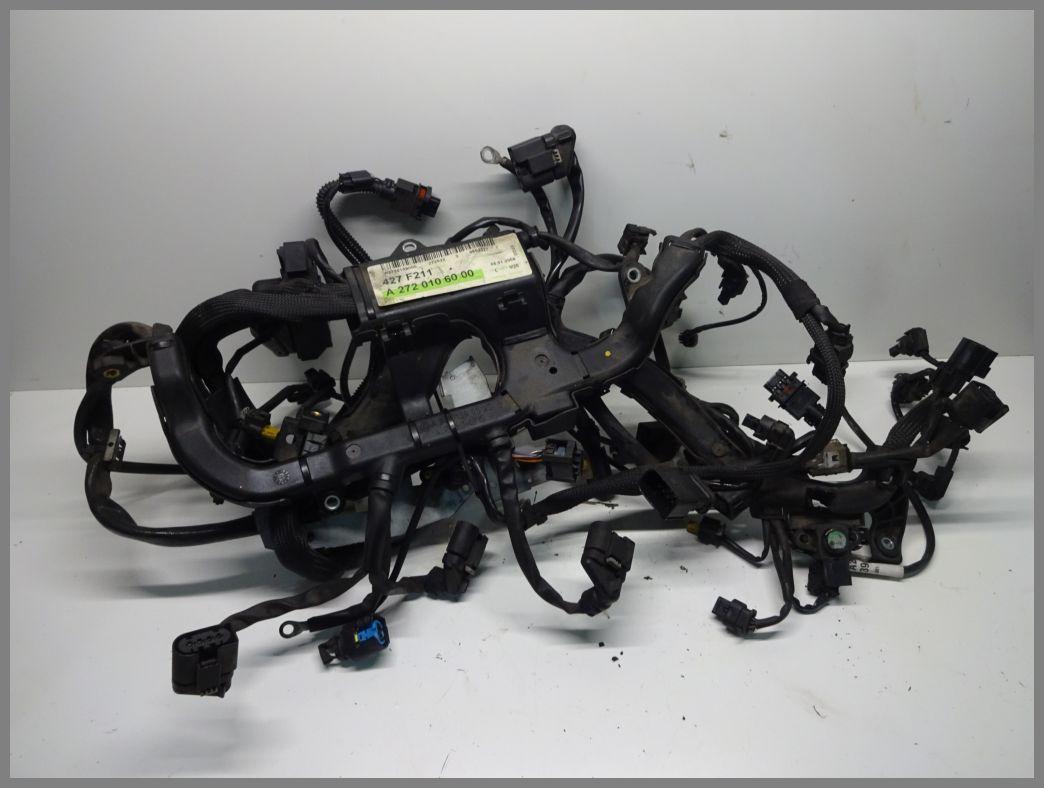mercedes benz mb m272 v6 350 engine wiring harness 2720106000 original |  w211 | e-class | mercedes spare parts | benzshop.de  www.benzshop.de