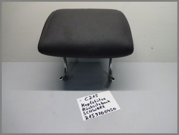 Mercedes Benz W215 CL Headrest Head Rest Rear Back Side Black 2159700450