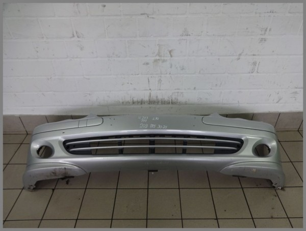 Mercedes Benz W203 S203 Frontbumper Bumper 775 iridium silver 2038853225 S72