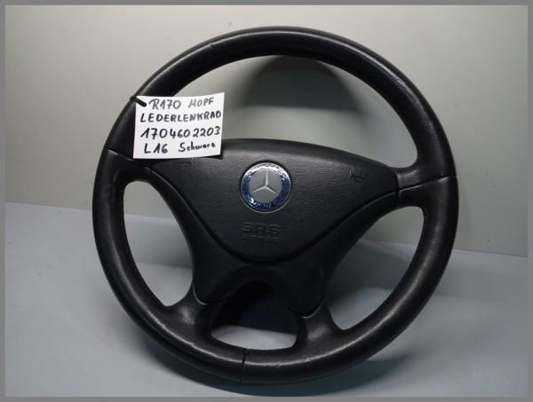 Mercedes Benz MB R170 SLK-Klasse MOPF Lederlenkrad Schwarz 1704602203 Orig. L16
