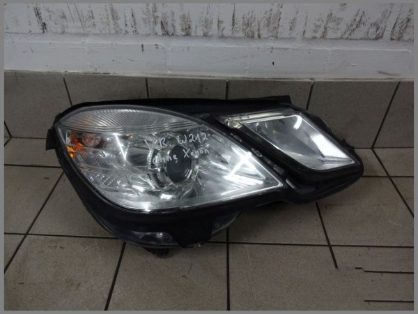 Mercedes Benz W212 Headlight 2128208261 Hella Original Right Front Lamp