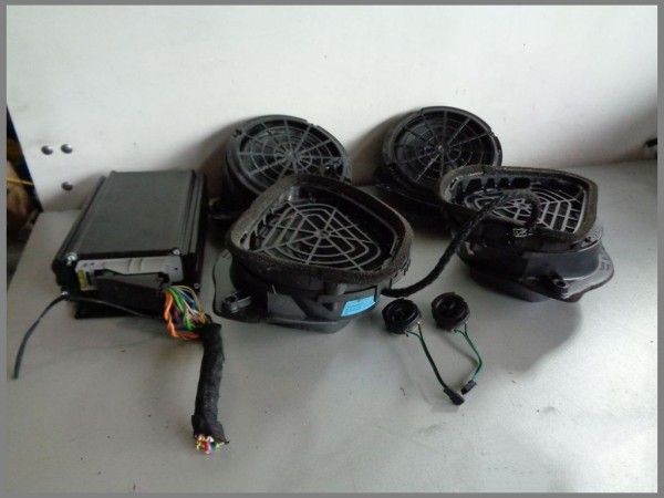 Mercedes Benz MB R170 BOSE Verstärker kompl. Soundsystem Lautsprecher 1708200689