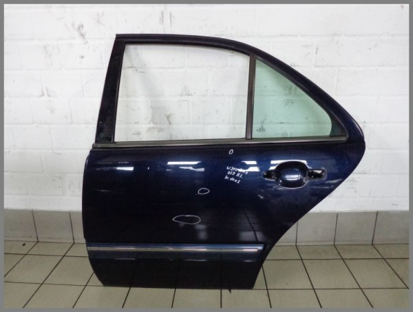 Mercedes Benz W210 Limousine Facelift door rear left 359 Tansanitblue K1002