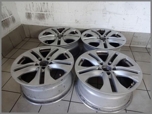 Mercedes W212 Alufelgen Felgen SET 8x17 8,0x17 ET46 2124010902 Original B55 Satz