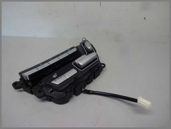 Mercedes Benz MB W221 S-Class seat adjustment switch front right 2218707551