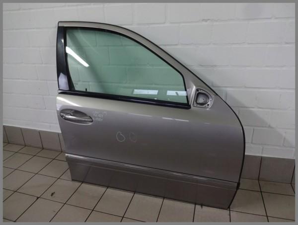 Mercedes Benz W211 door front right 723 Cubanitilber K1021 2117201405 original