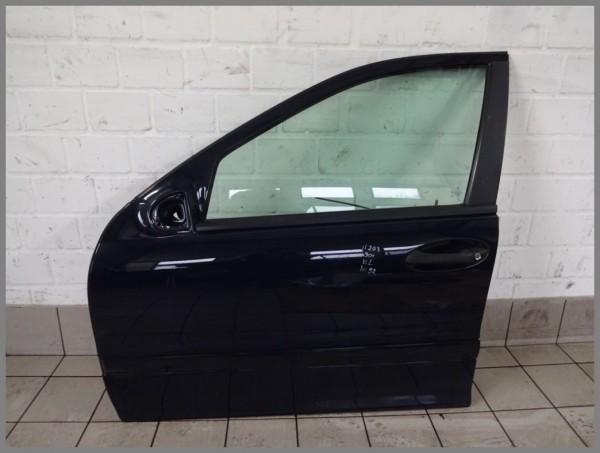 Mercedes Benz MB W203 C-Class Door Front Left 904 Dark Blue 2037200105 K92
