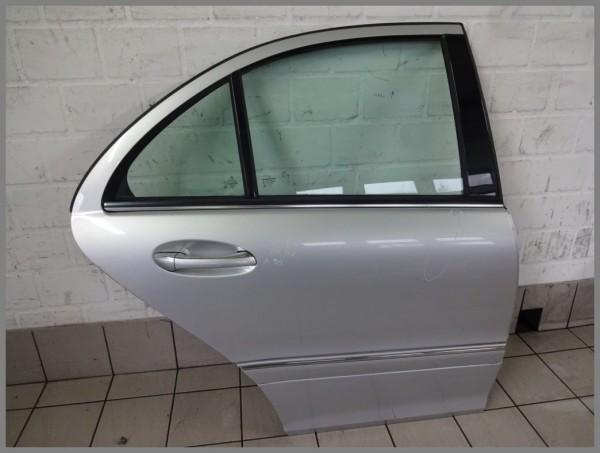 Mercedes Benz MB W211 E-Klasse Tür Hinten Rechts 744 Silber 2117300205 K90 Limo