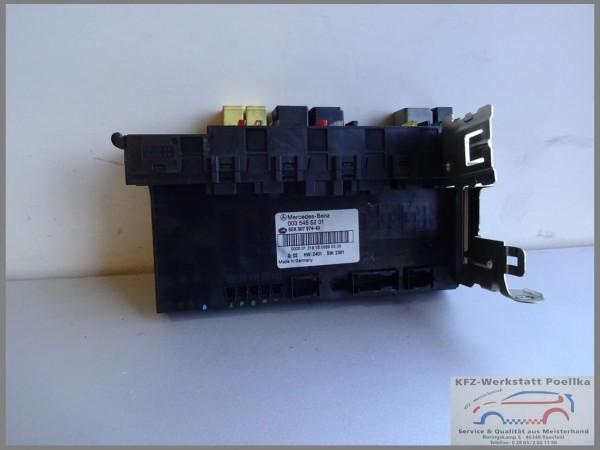 Mercedes Benz Mb W203 Steuergerät SAM 0035455201 Sicherungskasten 5DK-007974-40
