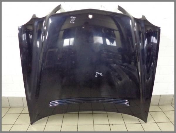Mercedes Benz MB W210 E-Class bonnet hood MOPF 359 Tansanitblau 2108800957 K34