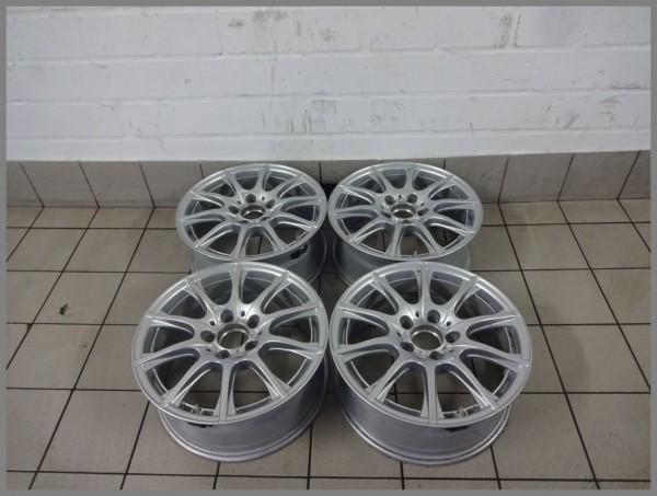 Mercedes Benz W205 aluminum rims 6.5x16 ET38 rims original 2054012400 SET B90