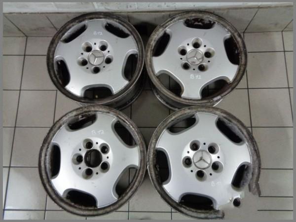 Mercedes Benz Rims >> Mercedes Benz W210 W202 Alloy Wheels 7 5x16 Et41 7 5 X 16 Original 2104010402 B12