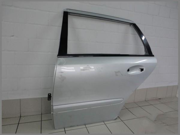 Mercedes Benz MB W211 Door REAR Left 744 silver COMBI driver's side