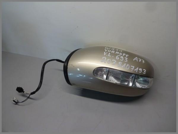 Mercedes Benz W211 Außenspiegel Links 693 Travertinbeige VORMOPF 2038107193 A77