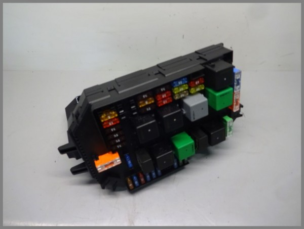 Mercedes W221 control unit relay box SAM front 2215458345 2215402250 original