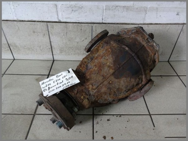 MB W202 W210 Differential 220CDI 178tkm 3,07 Hinterachsgetriebe 2103502914