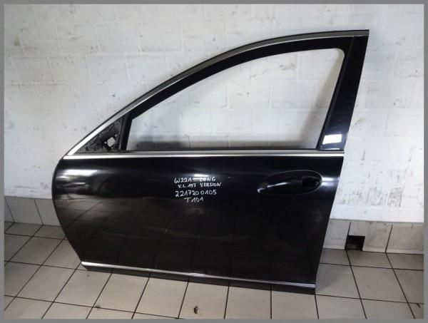 Mercedes Benz W221 Tür Vorne Links 197 Schwarz Original T101 2217200105