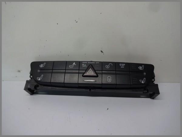 Mercedes Benz MB W211 E-Klasse Schalterleiste Schalterblock 2118218658 Original
