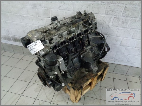 Mercedes Benz W211 W220 320CDI Engine OM648961 163tkm 648961 Diesel OM648