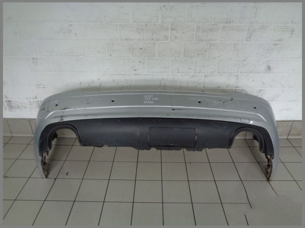 Mercedes Benz R251 AMG Rear Bumper 775 Silver 2518851925 Genuine PDC