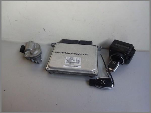 Mercedes Benz W211 CDI engine control unit 6461505472 DELPHI 0044461440