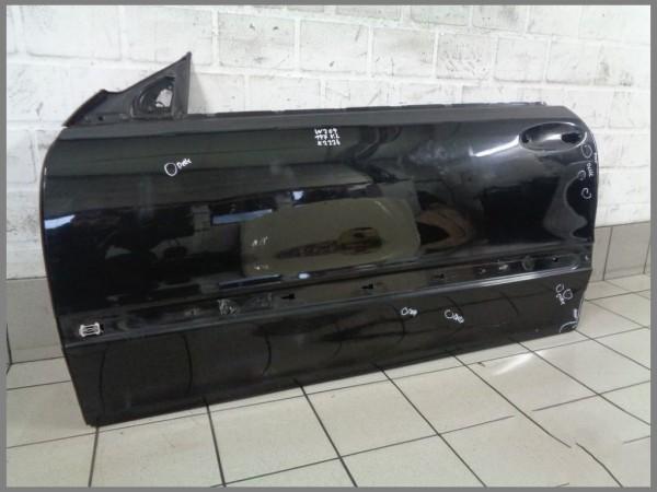 Mercedes Benz W209 CLK Fahrertür Tür Links 197 Schwarz K2224 Original Cabrio