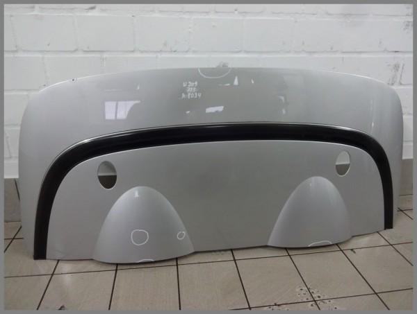 Mercedes W209 CLK CABRIO trunk lid convertible top compartment lid 775 silver 2097500075