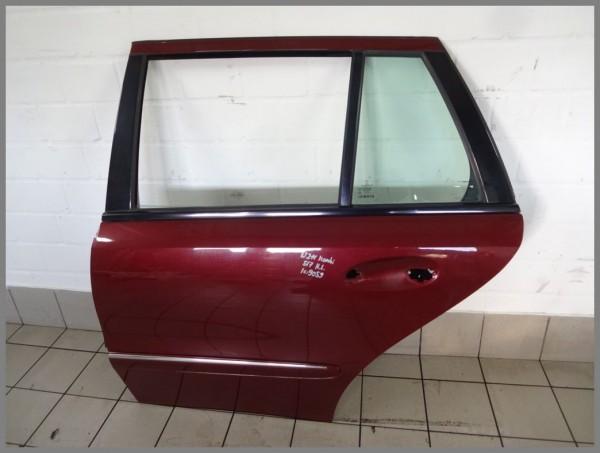 Mercedes Benz MB W211 rear left door 567 titanite red 2117300305 K9059 estate