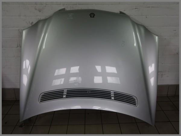 Mercedes Benz W203 bonnet hood 775 iridium silver 2038800157 original K4391