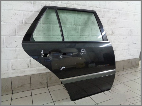 Mercedes Benz W202 BJ.00 Rear door right 199 Black Passenger door K2093 Estate