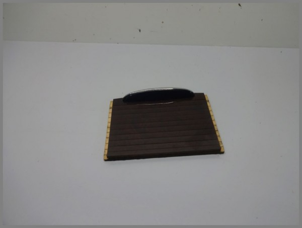 Mercedes Benz MB W203 C-Class storage compartment center console roller blind 2036800023 Orig.