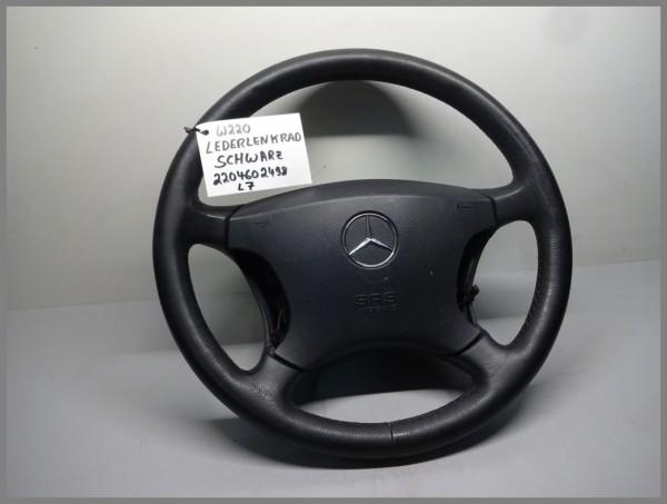 Mercedes Benz MB W220 S-Class steering wheel leather steering wheel black 2204602498 L7