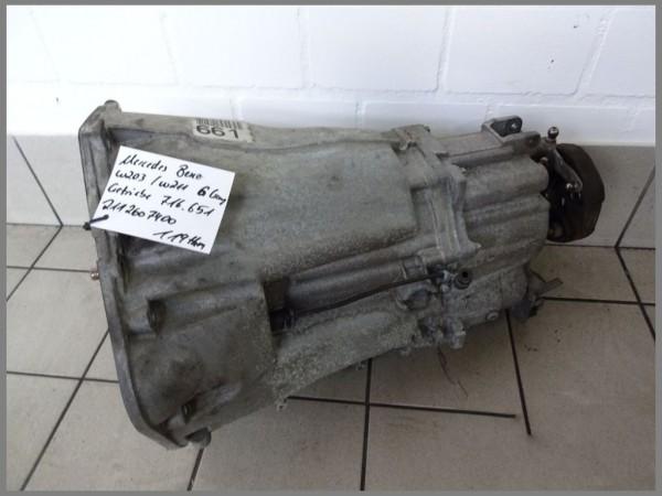 Mercedes Benz W203 CDI manual transmission 716651 119tkm 6 speed transmission 2112607400