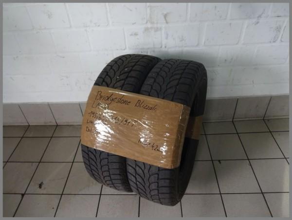 2x Bridgestone 195 65 R15 91T Blizzak LM32 DOT1414 4,2mm winter tire