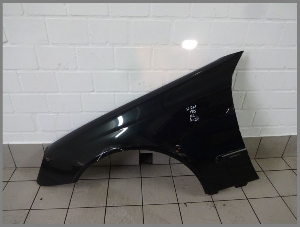 Mercedes W211 S211 fender left 185 melante black 2118800718 K24 original