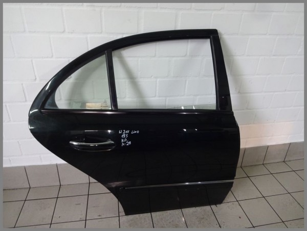 Mercedes Benz MB W211 Tür Hinten Rechts 185 Melanitschwarz 2117300205 K29 Limo
