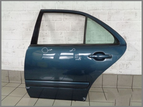 Mercedes Benz MB W210 door REAR LEFT 257 BLUE K1864 sedan LIMO driver side