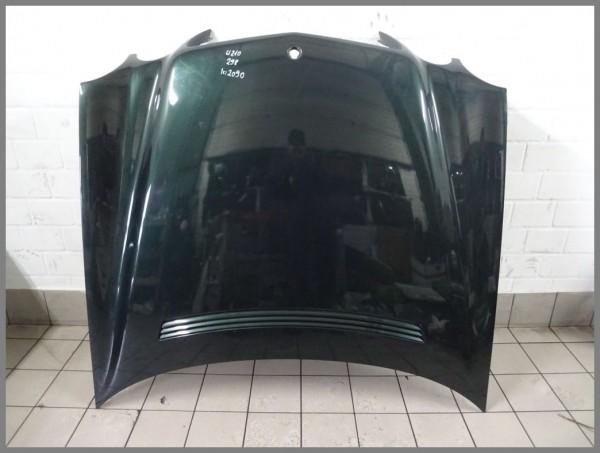 Mercedes Benz MB W210 Motorhaube Haube MOPF 298 Grün 2108800957 K2090