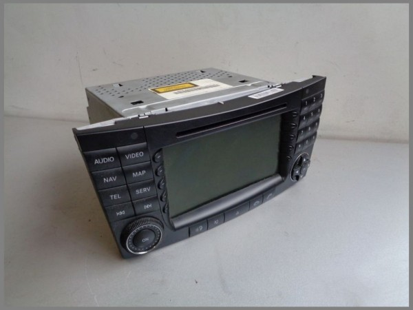 Mercedes Benz W211 APS NTG1 Comand Radio BE7039 2118204197 DVD CD Navigation