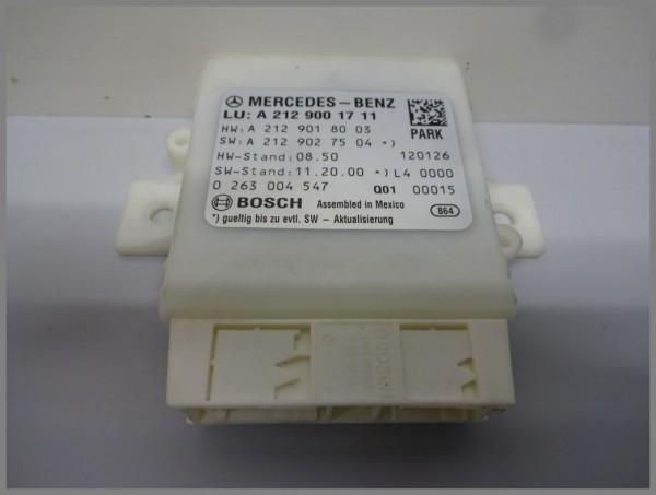 Mercedes Benz MB W212 parking aid PDC control unit 2129001711 Bosch 0263004547