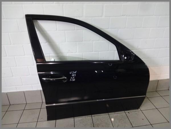 Mercedes Benz W211 E-Class Door Front Right 185 Melanite Black 2117201405 K30