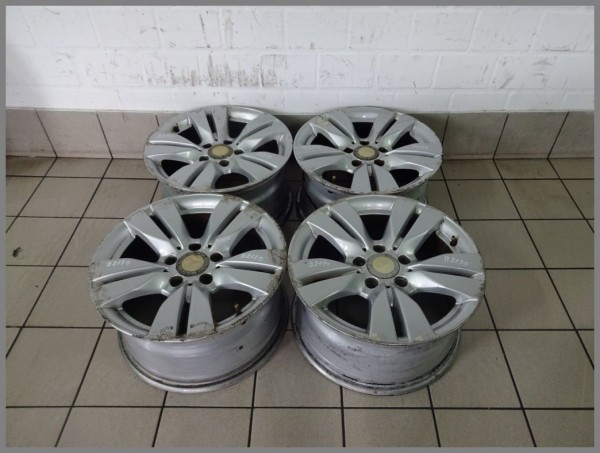 Mercedes W212 alloy rims SET 8x16 ET46 2124010202 original B2170 SET