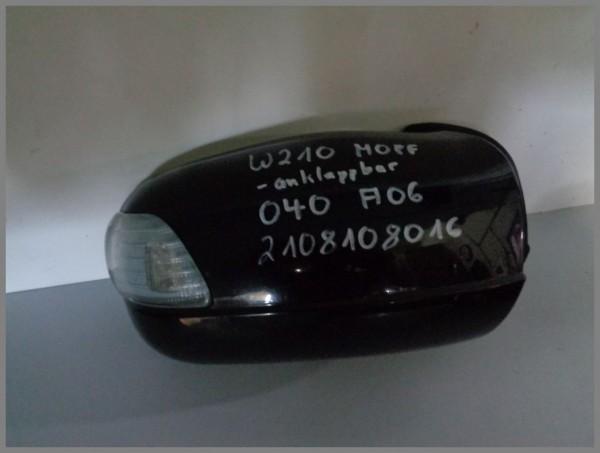 Mercedes W210 Außenspiegel anklappbar 040 Schwarz Rechts 2108108016 A06