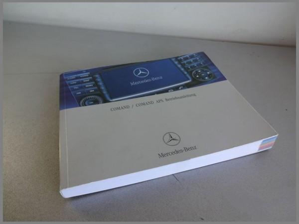 Mercedes Benz W211 Comand Operating Instructions 2115848783
