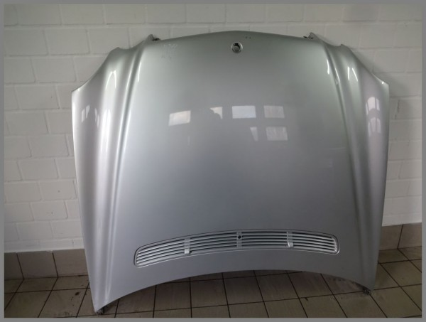 Mercedes Benz MB W211 bonnet hood 775 iridium silver 2118800457 original K4