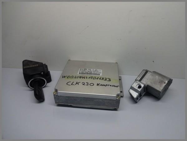 Mercedes Benz W208 Motorsteuergerät Steuergerät 0265451332 Bosch 0261206308