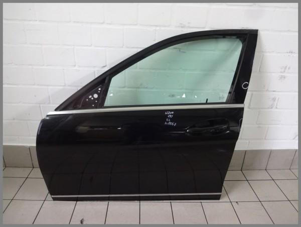 Mercedes Benz W204 C-Class door front left 197 black 2047205900 K8057 Orig